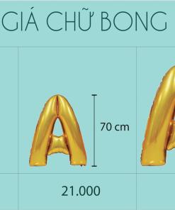 kich thuoc Bong bong chu