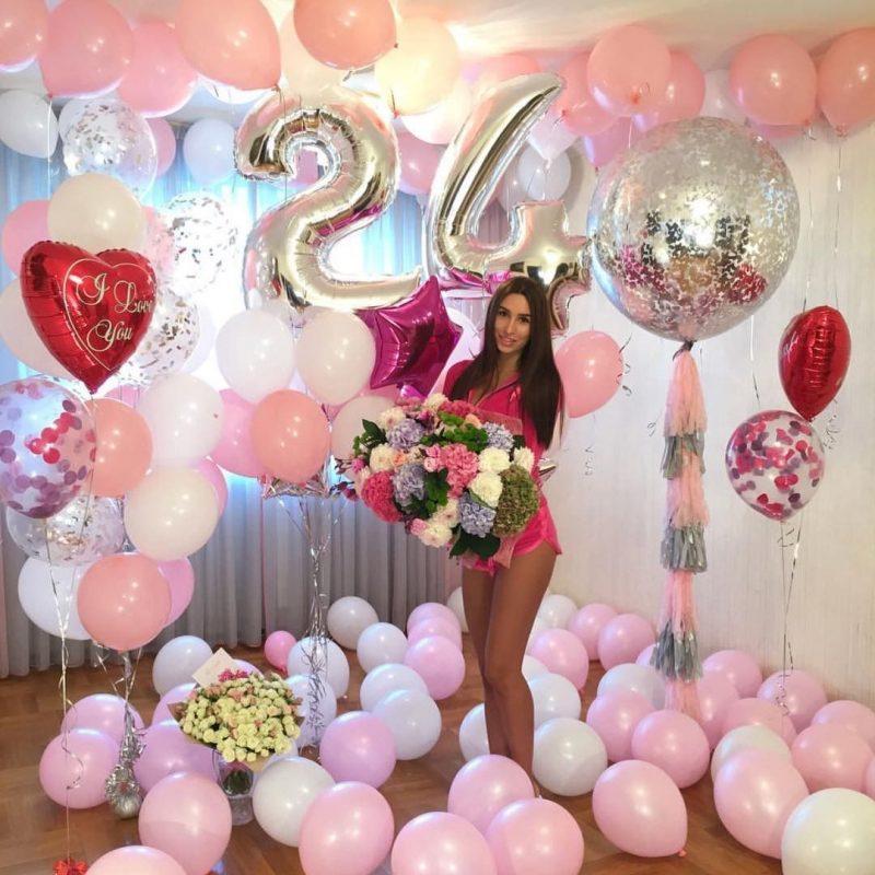 Trang trí sinh nhật cho người lớn là bạn gái