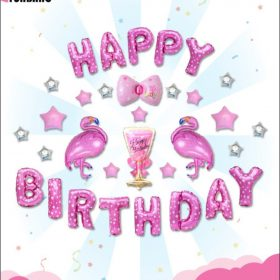 Happy birthday hồng hạc