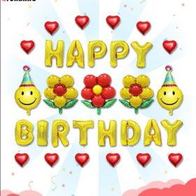 Happy birthday hoa bé ngoan