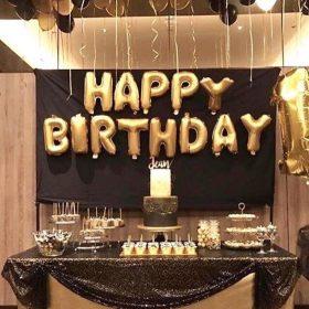 Happy birthday và bóng thả bay huyền bí