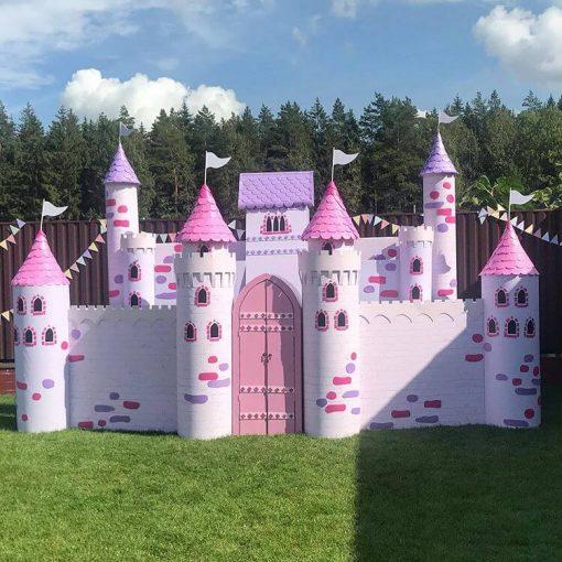 Tiểu cảnh sinh nhật Pink Castel