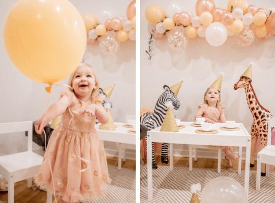 Tiệc sinh nhật cho bé gái 2 tuổi