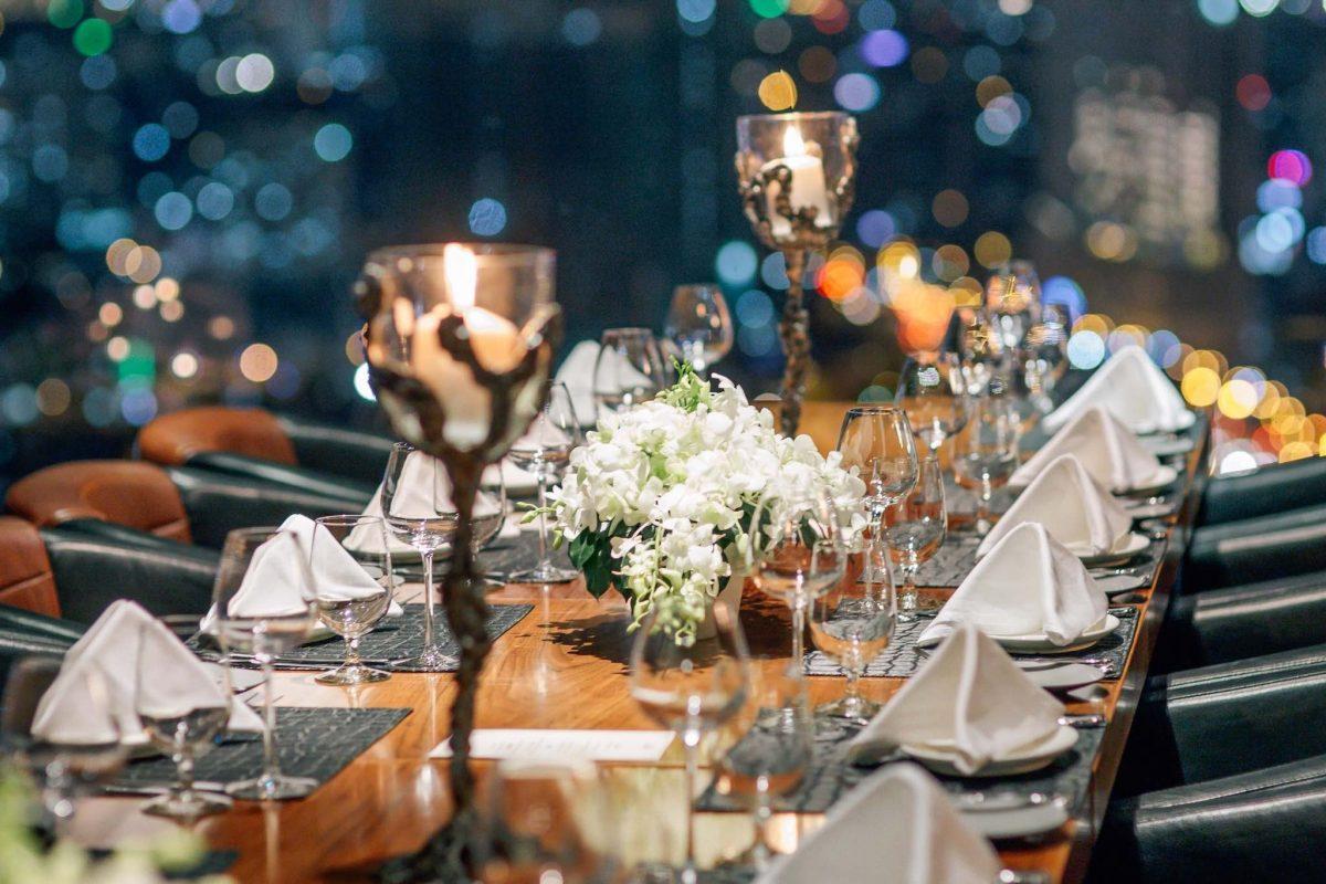 Không gian lãng mạn tổ chức tiệc sinh nhật cho người yêu