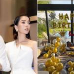 Tình trẻ kém 12 tuổi của Lệ Quyên bí mật tổ chức sinh nhật hoành tráng tại một resort sang trọng