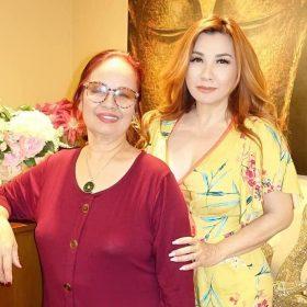 Trizzie Phương Trinh tổ chức sinh nhật cho mẹ Bằng Kiều   Giải trí