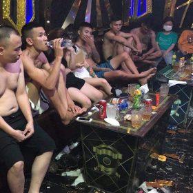 Bắt quả tang 23 thanh niên xăm trổ 'bay lắc' mừng sinh nhật | Thời sự