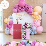 Gây sốc với hơn 100 mẫu backdrop sinh nhật độc đáo tại Xinh Event