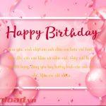 Lời chúc Sinh nhật - 320++ lời chúc mừng Sinh nhật hay cho mọi đối tượng